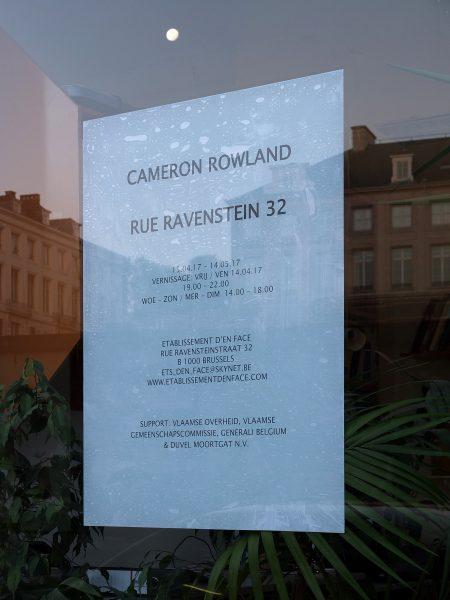 RUE RAVENSTEIN 32 CAMERON ROWLAND - Rue Ravenstein 32