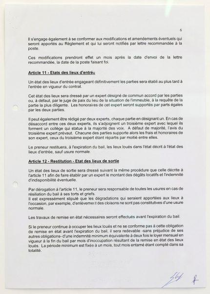 RUE RAVENSTEIN 32 CAMERON ROWLAND - Rue Ravenstein 32, 2017 - Lease subsidy