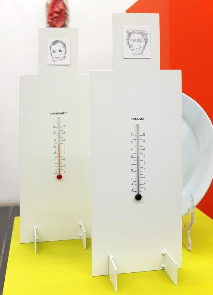 IL NUOVO III JOS DE GRUYTER & HARALD THYS, SMALL WHITE ELEMENT (THERMOMETER) - Edition 10 + 2 AP - ETABLISSEMENT D'EN FACE/PORTIKUS - 650,00 EURO