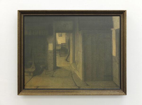 LES INTIMISTES VERVIÉTOIS Georges Le Brun - L'homme qui passe, 1900