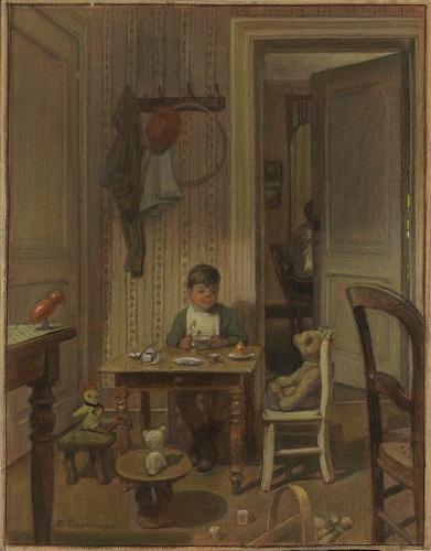 LES INTIMISTES VERVIÉTOIS MAURICE PIRENNE, SANS TITRE, 1916