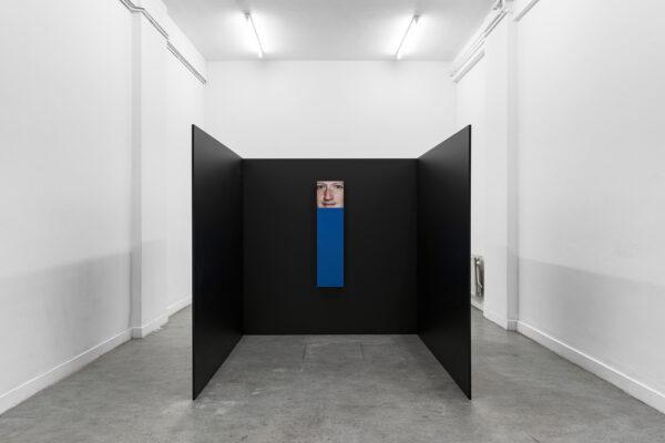 ARNAULT MARK RIHANNA Christophe de Rohan Chabot -  Untitled (Mark blue/black)