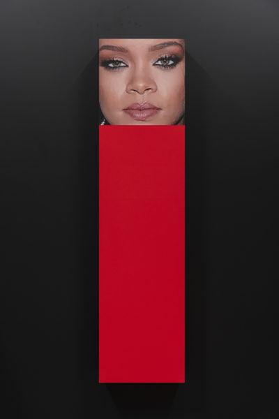 ARNAULT MARK RIHANNA Christophe de Rohan Chabot -  Untitled (Rihanna red/black), 2021